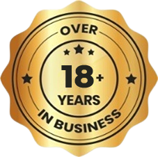 Over 16 Years In Business